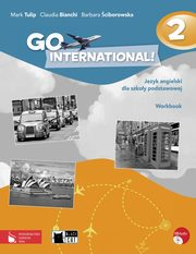 Go International! 2 Workbook + CD, Mark Tulip, Claudia Bianchi