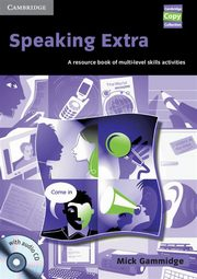Speaking Extra Resource Book + CD, Gammidge Mick