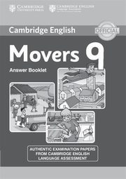 Cambridge English Young Learners 9 Movers Answer Booklet,