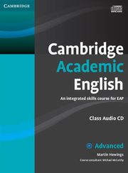 Cambridge Academic English C1 Advanced Class Audio CD, Hewings Martin