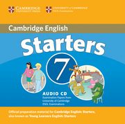 Cambridge Young Learners English Tests 7 Starters CD,