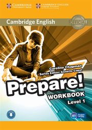 Cambridge English Prepare! 1 Workbook, Chapman Caroline
