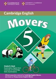Cambridge Young Learners English Tests Movers 5 Student Book,