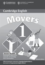Cambridge English Movers 1 Answer Booklet,