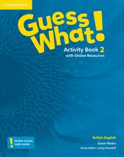 ksiazka tytuł: Guess What! 2 Activity Book with Online Resources autor: Rivers Susan
