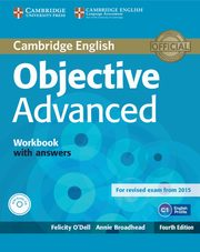 Objective Advanced Workbook with Answers + CD, Odell Felicity, Broadhead Annie