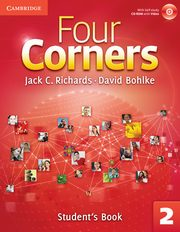 Four Corners 2 Student's Book with Self-study CD-ROM and Online Workbook, Richards Jack C., Bohlke David