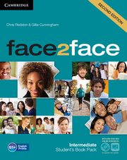 face2face Intermediate Student's Book with DVD, Redston Chris, Cunningham Gillie