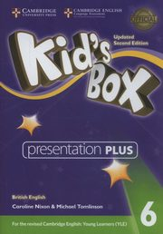 Kid's Box Level 6 Presentation Plus DVD-ROM British English, Nixon Caroline, Tomlinson Michael