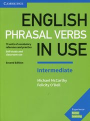 ksiazka tytuł: English Phrasal Verbs in Use Intermediate autor: