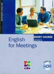 English for Meetings + mp3 do pobrania, Kenneth Thomson